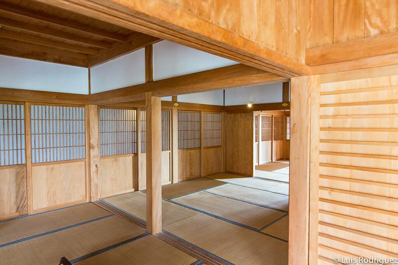 Interior del Shoin-Sasunoma
