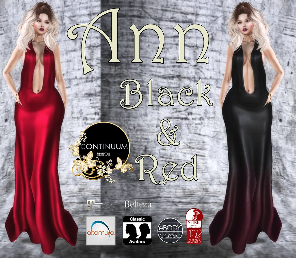 Continuum Ann Red & Black SPECIAL 10 LINDEN
