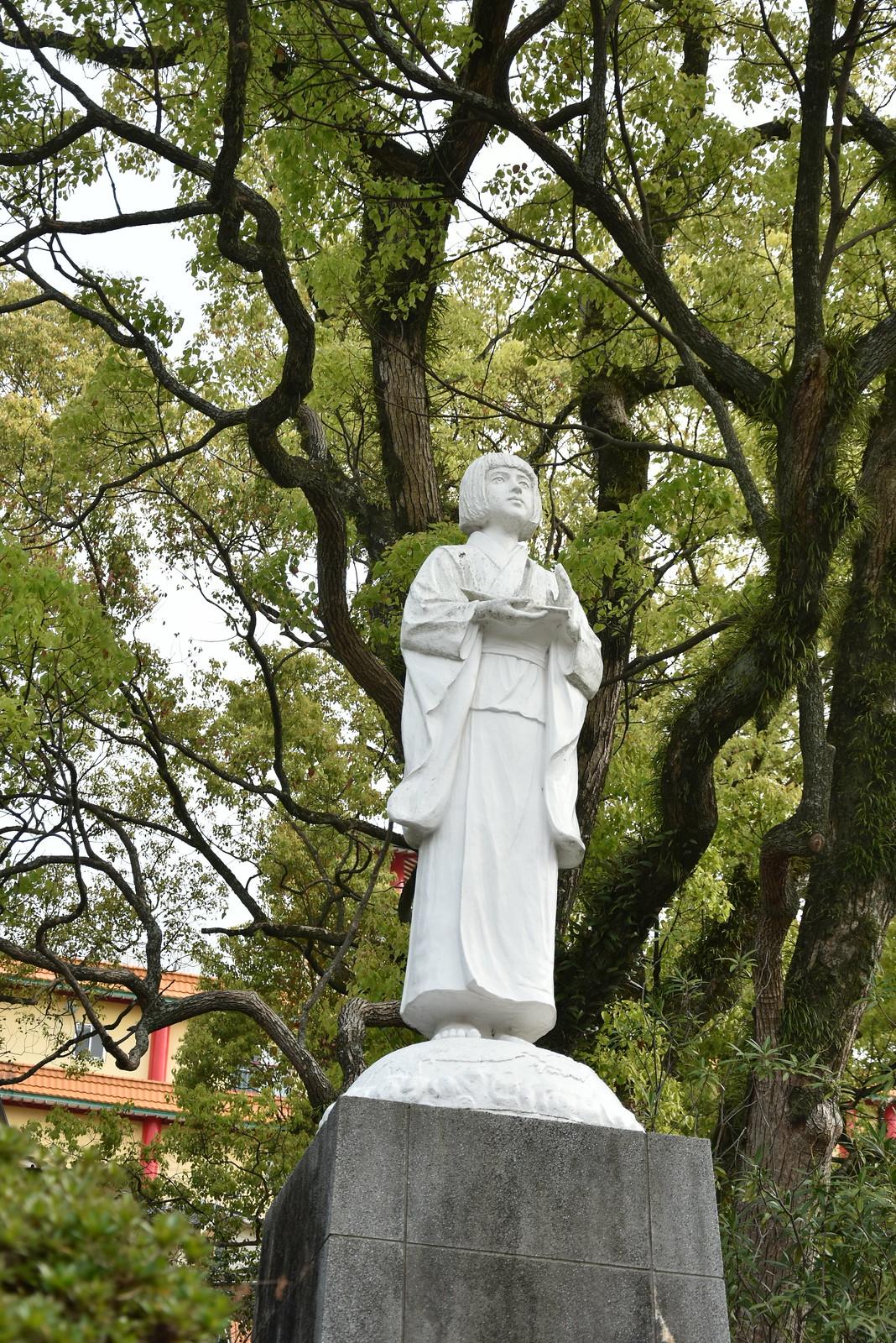 Nagasaki - statue de Sadako