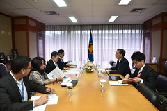 Courtesy call by FJCCIA Delegation