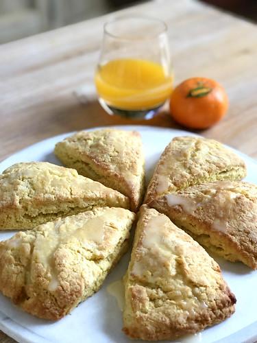 Glazed Orange Scones | by DolceDanielle