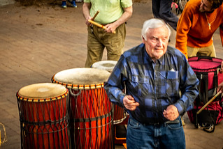 Asheville Drum Circle-37   by RandomConnections