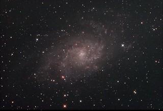 M33 Triangulum Galaxy Stack_81frames_2430s_WithDisplayStretch | by BlackWikkett