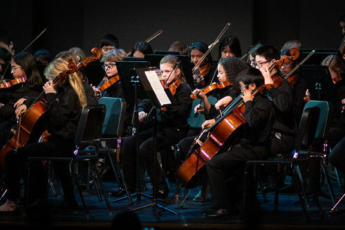 Middle school orchestra concert | by chadsellers