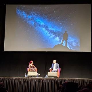 Richard Dawkins & Alice Roberts | by Dave Cross