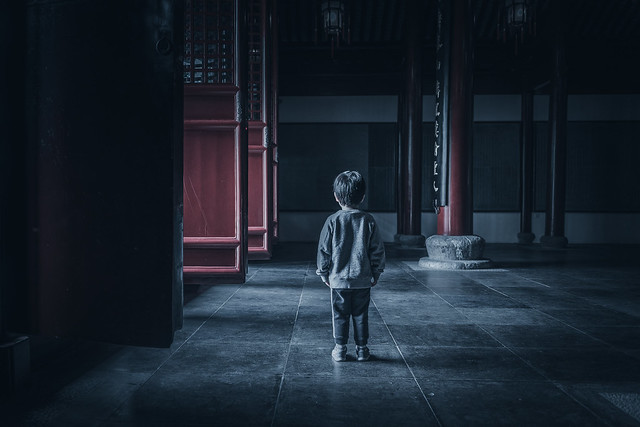 The Boy at the Confucius Temple