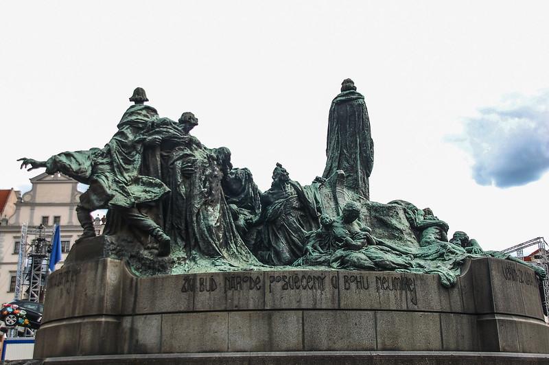 Jan Hus(胡斯)雕像 1