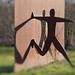 Dance in the sun (sculpture made of metal). by detlefgabriel17