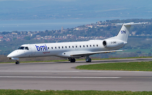 BMI Regional Embraer 145 G-EMBI | by Neil D. Brant