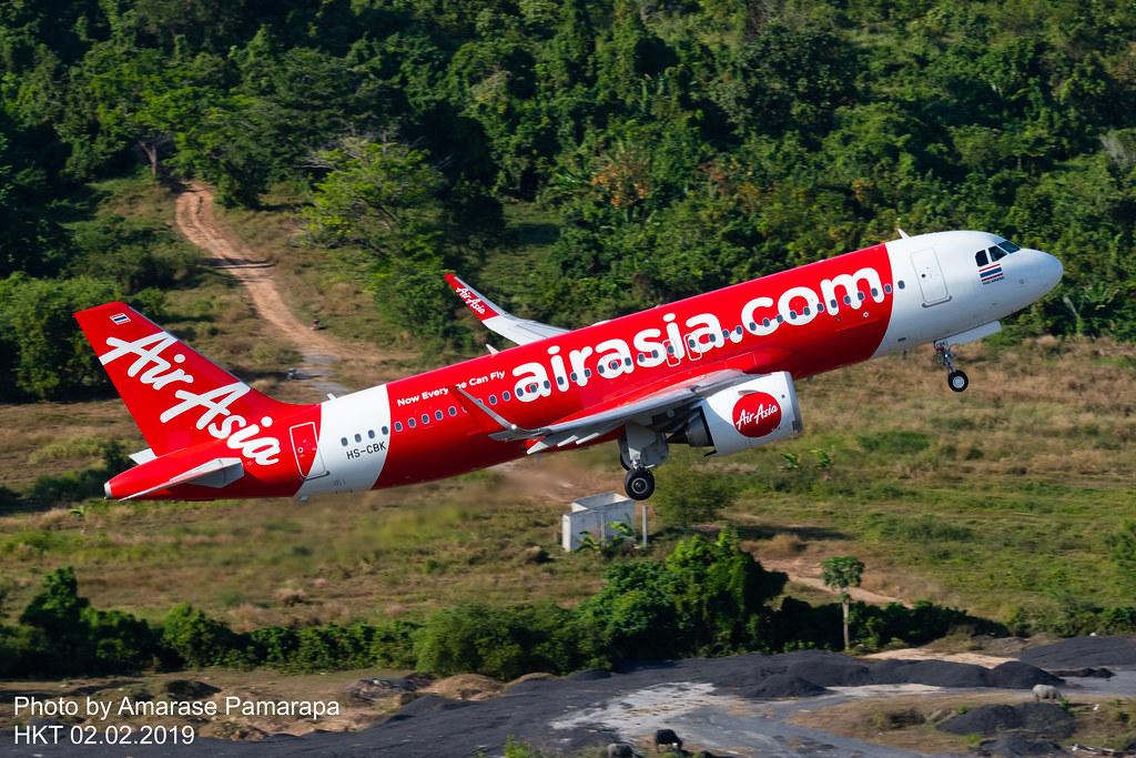 HS-CBK // Thai AirAsia Airbus A320-251N