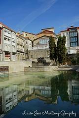 Ourense. Piscina termal as Burgas.