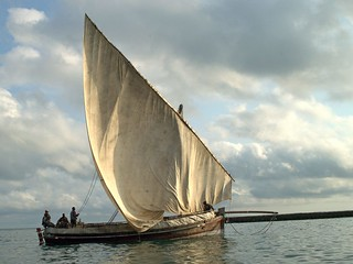 Dhow – Off the coast of Zanzibar