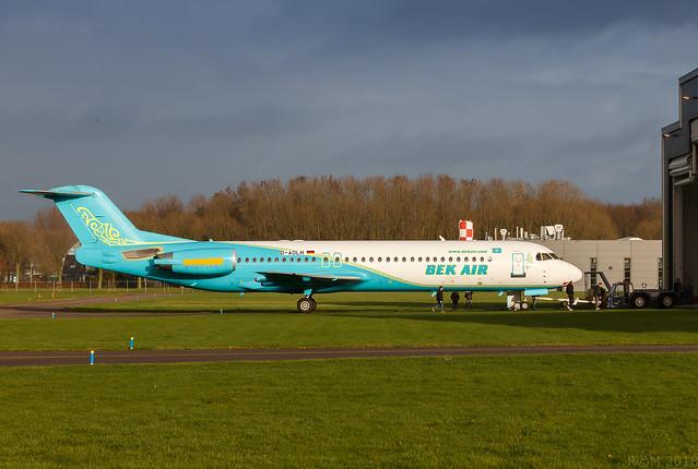 D-AOLH - Fokker 100 - EHLE - 20181203