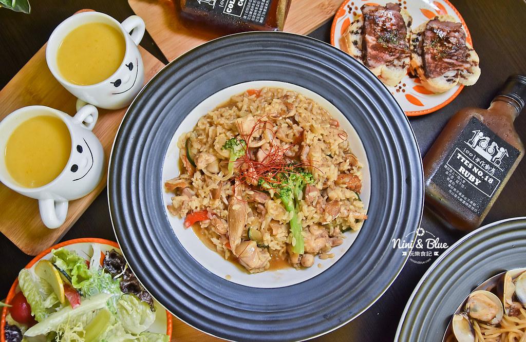 1001手作廚房 菜單menu 台中義大利麵