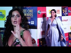 Gorgeous Katrina And Sonam Kapoor At Zee Cinema Awards