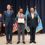 Vi, 03/29/2019 - 14:25 - On Friday, March 29, 2019, the William J. Perry Center for Hemispheric Defense Studies hosted a graduation ceremony for two courses: 'Strategic Implications of Human Rights and Rule of Law' and 'Combating Transnational Threat Networks.' Students from all over the Americas attended the courses from March 18-29, 2019. The graduation ceremony and reception took place in Lincoln Hall at the National Defense University's North Campus at Fort McNair in Washington, DC.
