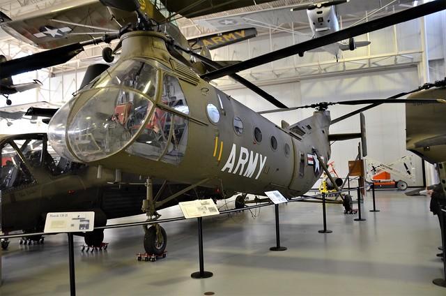 CH-21 Shawnee, U. S. Army (02040), Fort Rucker, Alabama, U. S. Army Aviation Museum