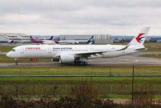 F-WZNF Airbus A350 China Eastern | by @Eurospot