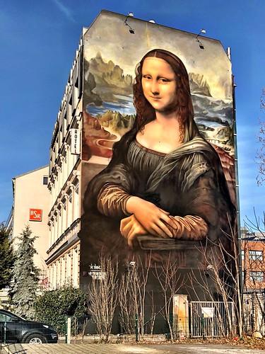 Mona Lisa meets Berlin   by ANBerlin