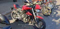 2017 Triumph 765 Motorcycle