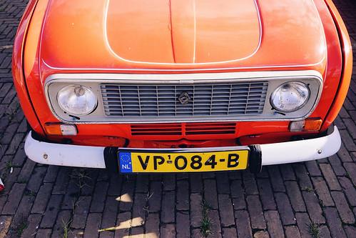 Renault 4 in orange | by Eric Flexyourhead
