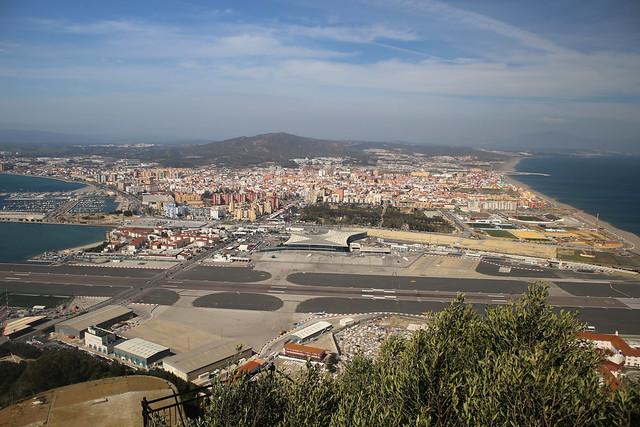 Spain from Gibraltar