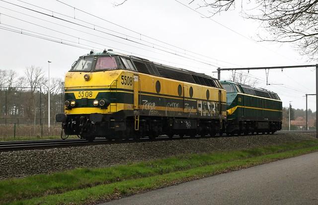 TUC RAIL 5508 + 5528 - Linkhout - 13/09/2018.