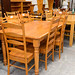 Rossmore extendable with chairs dining table E225