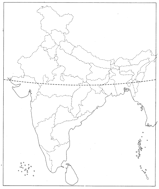 Class 10 History Map Work Chapter 3 Nationalism in India Q5