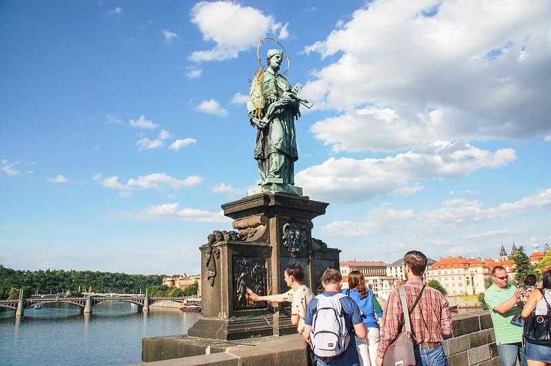 St. Jan Nepomuk 雕像 1