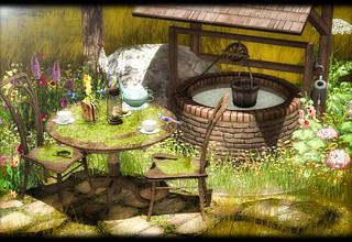 Dreamland Designs - DD Wild Romantic Garden Scene | by Elaine Lectar