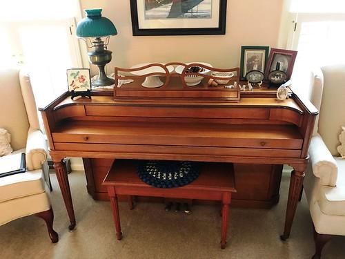 Aerosonic maple case piano w/bench | by thornhill3