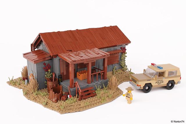 LEGO Stranger Things Hopper Cabin