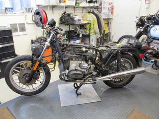 Tank, Seat, Fairing & Brackets Removed | by Brook Reams