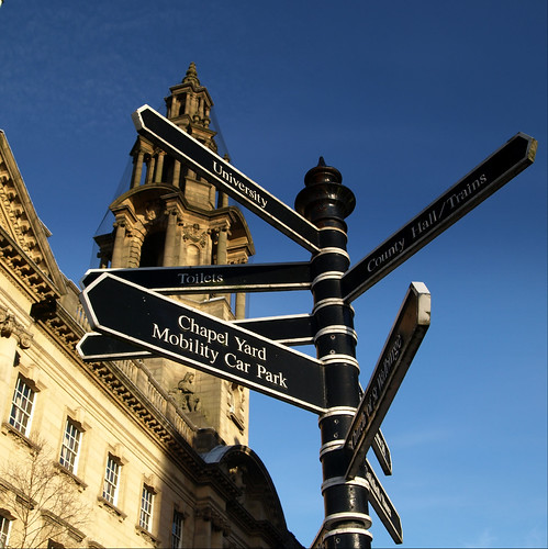 Direction signs in Preston | by Tony Worrall