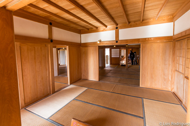 Interiores del Shoin-Sasunoma