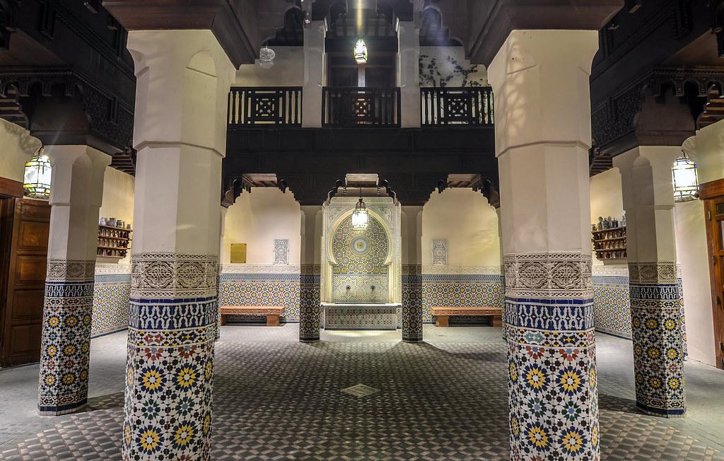Morocco Pavilion Epcot night