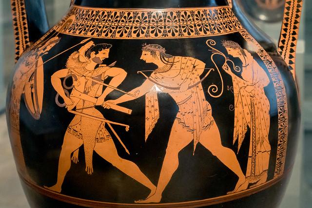 Athletes XXV: Athletes and Myth
