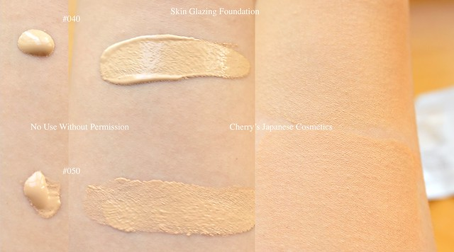 Skin glazing