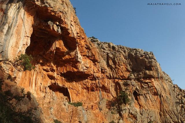Rock climbing in Greece (Leonidio)
