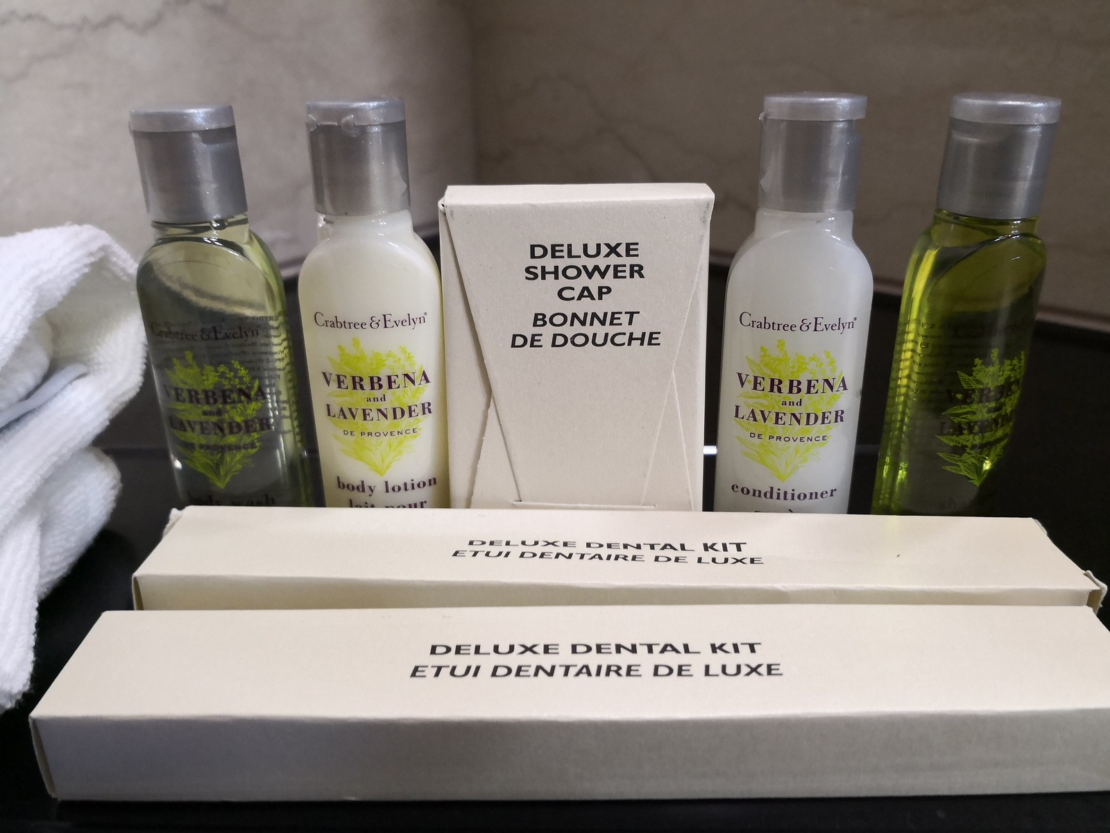 Crabtree & Evelyn amenities