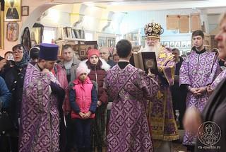 24.03.2019 | Божественная литургия в пос. Демянск