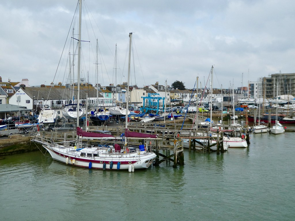 The harbour at Shoreham-by-Sea