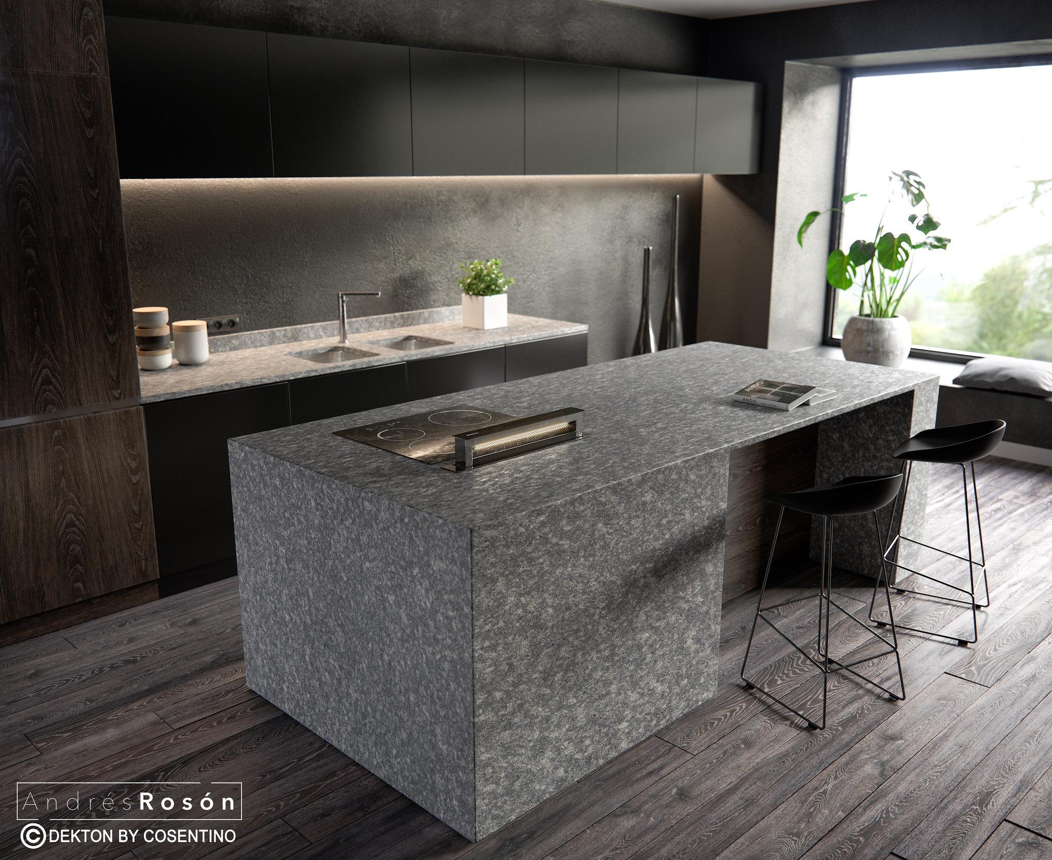 Black Kitchen/By Cosentino