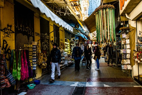 Monastiraki Market, Athens, Greece | by Davide Tarozzi