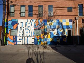 Deep Ellum street art   by tlkativ