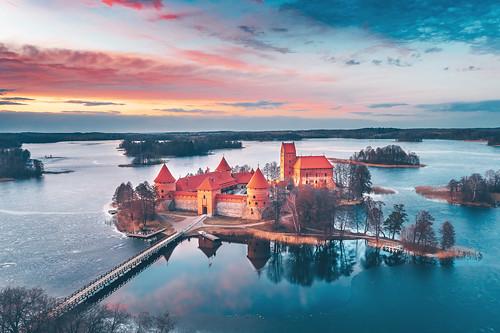 Trakai Island Castle | Lithuania aerial #77/365 | by A. Aleksandravičius