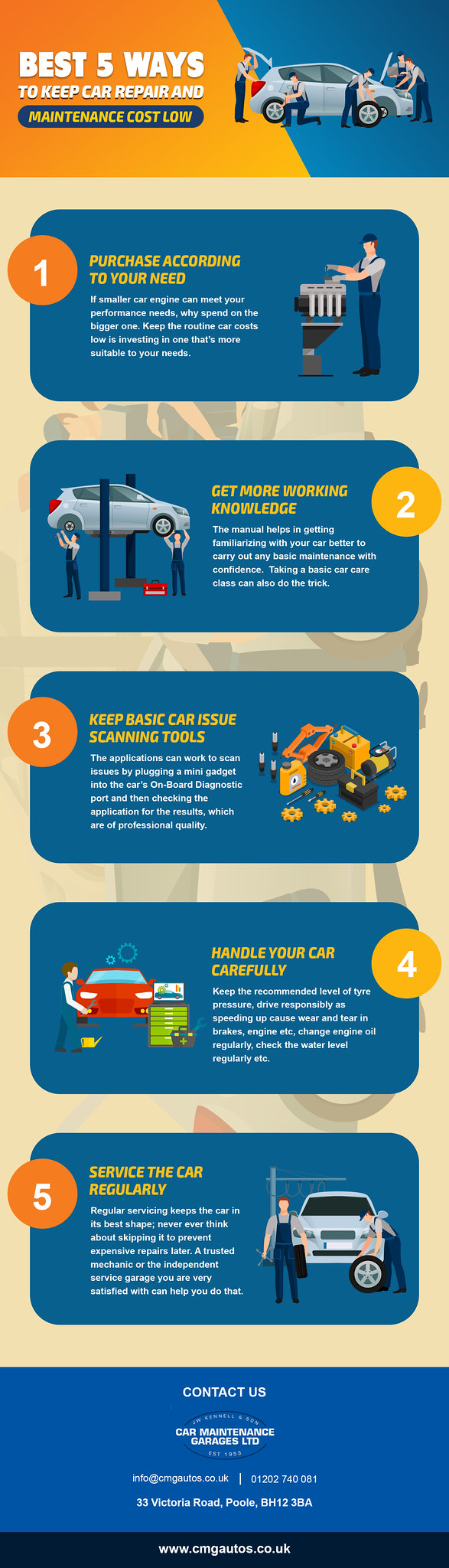 Best Ways to Keep Car Repair and Maintenance Cost Low