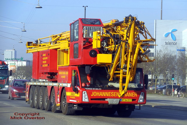 The world´s largest mobile tower crane - Spierings SK1265 AT6 BT64577 one of just over 100 built so far