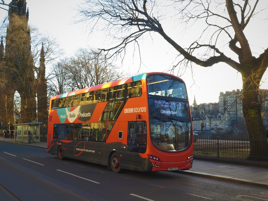 Lothian Buses 417 (BN64CRX) - 17-01-19 | Lothian Buses' Wrig